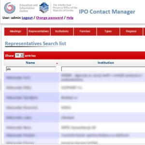 IPO Contact Manager: Stakeholders Database